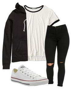 """Untitled #191"" by kingrabia on Polyvore featuring American Eagle Outfitters, Converse and H&M"