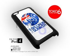AJ 3617 5 Secon Of Summer American - iPod 4/4s Case | toko6 - Accessories on ArtFire
