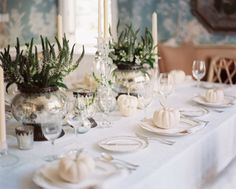 Look We Love: Fall Decor with White Pumpkins