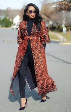 african fashion ankara This Stylish African print Kimono jacket is ideal for every occasion. This jacket is also available in other prints, this jacket can be made in sizes US 0 African Fashion Ankara, Latest African Fashion Dresses, African Inspired Fashion, African Print Dresses, African Print Fashion, African Dress, Africa Fashion, African Prints, Modern African Fashion