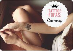 Tattoos Fofas:Coroas
