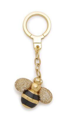 Kate Spade New York Jeweled Bee Keychain