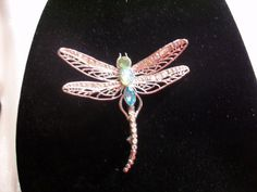 Avon Beautiful Vintage Crystal Dragonfly  by THEPARISBOUTIQUE, $15.00 I WANT THIS!!!!