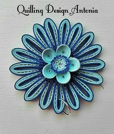 Pandant Origami And Quilling, Quilling Flowers, Quilling Ideas, Quilling Designs, Paper Quilling, Quilling Jewelry, Paper Jewelry, Artsy Fartsy, Paper Art