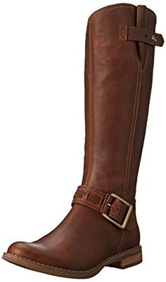 Timberland Women's Savin Hill Tall Boot,Tobacco Forty,9 M US >>> For more information, visit image link.