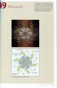 One World Fabrics: Shop | Category: English Craft/Quilting Books | Product: 120 Original Embroidery Designs by Yoko Saito