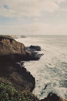 *Whatever film/camera was used for these Big Sur shots..love the whole look of them!*  california 2012
