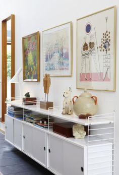 Atriumhuset är fyllt med möbelklassiker | Leva & bo | Heminredning Allt för Hus & Hem | Expressen