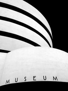 New York City. The Solomon R. Guggenheim Museum, designed by Frank Lloyd Wright.