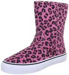 Vans Girls' Slip-On Boot , (Suede) Leopard/Aurora Pink-11.5 Toddler - http://shoes.goshopinterest.com/girls/crib-shoes/vans-girls-slip-on-boot-suede-leopardaurora-pink-11-5-toddler/