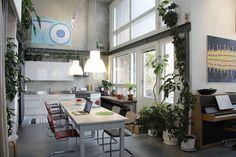 Blogissa: Kerrostalo täynnä loft-asuntoja