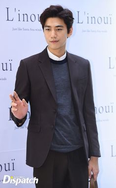 Jang Geun Seok, Sung Joon, and Lee Jong Seok Attend L'inoui Fall Fashion Event in Seoul 2015 Asian Actors, Korean Actors, Asian Boys, Asian Men, Kdrama, Sung Joon, Korean Star, Korean Celebrities, Korean Beauty