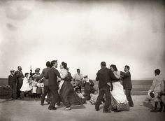 Julián Collado, El baile de la matazón. Albacete, ca.1900, Archivo Collado