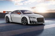 Audi Tt Clubsport Concept Front Three Quarter