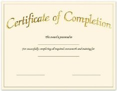 Make A Certificate Of Completion Elegant Create Free Certificate Pletion Fill In the Blank Certificates Free Printable Certificate Templates, Certificate Of Completion Template, Certificate Of Achievement Template, Certificate Format, Free Certificates, Training Certificate, Gift Certificate Template, Good Resume Examples