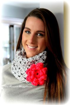 Priscillas: My Favorite Infinity Scarf Pattern Dressed Up !