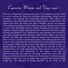 Virgo Man Capricorn Woman Instant Attraction