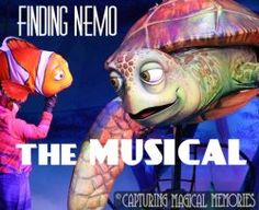 The Musical at Park Disney Trips, Disney Parks, Walt Disney World, Finding Nemo The Musical, Disney World Shows, A Whole New World, Sit Back And Relax, Animals Of The World, Live Action