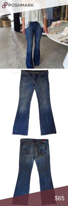 """🦅 American Eagle Hipster Jeans 14 👖Inseam 32"""" American Eagle Outfitters Jeans Flare & Wide Leg"""