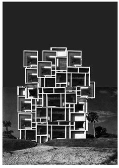 Roughness Grave Gambler — thekhooll: The Imagelist Luca Galofaro The. Modern Architecture Design, Interior Architecture, Unusual Buildings, Visual Memory, Famous Architects, Brick And Stone, Brutalist, Poster Prints, Projects