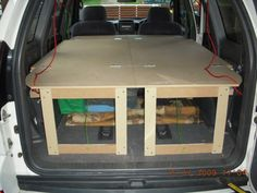 DOUBLE BED INSIDE A PRADO? NOW WITH PICS
