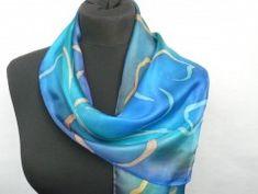 Simira - Ohnivý květ. Luxusní hedvábný šátek - jena Accessories, Fashion, Moda, Fashion Styles, Fashion Illustrations, Jewelry Accessories