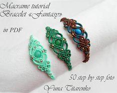 "Bracelet ""Fantasy"" baby teether bag bracelet classes adelaide 2020 designs macrame designs dreamcatcher fashion designers home decor Macrame Bracelet Diy, Macrame Bracelet Patterns, Macrame Earrings, Macrame Patterns, Macrame Knots, Macrame Bag, Micro Macrame Tutorial, Macrame Bracelet Tutorial, Chevron Friendship Bracelets"