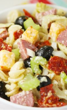 SISTER'S AWESOME PASTA SALAD
