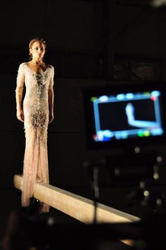 Glen Mackay produced a a short fashion film paying homage to the Gymnast— in particular, a Greek gymnast named Vasiliki Millousi who is one of Greece's mos Gymnastics Senior Pictures, Gymnastics Poses, Senior Pics, Digital Cinema, Film Life, Prom Dresses, Formal Dresses, Olympians, Short Film