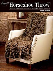 Horseshoe Throw Knit Pattern