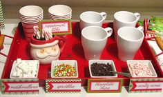 Hot Chocolate Christmas Party - for December Quarterly Crafting?