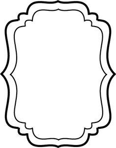 Basic frame element for the jar label, created in Adobe Illustrator. Borders For Paper, Borders And Frames, Cool Paper Crafts, Diy And Crafts, Photo Frame Design, Doodle Frames, Frame Template, Jar Labels, Penny Rugs