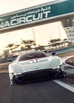 Stunner Aston Martin Vulcan at Yas Marina!