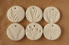 Clay Leaf Print Tutorial.