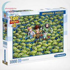 A Clementoni Impossible puzzle (magyarul lehetetlen kirakó) most a játékok világába repíti a kirakó kedvelőket. A Toy Story 4 rajzfilm főszereplői állnak szorosan elhelyezve egymás mellett több száz kis zöldszemű földönkívüli között az 1000 darabból álló puzzle képén. #Puzzle #Kirakó #Kirako #Játék #Jatek #Clementoni #ImpossiblePuzzle #LehetetlenKirakó #Ajándék #Ajandek Clementoni Puzzle, Puzzle Toys, Family Game Night, Family Games, Toy Story, Impossible Puzzle, Disney Puzzles, Diana, Disney Home