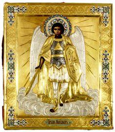 Archangel Icon, Russian