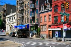 Looking South on Allen Street from Rivington Street - Lower East Side, NYC - June 2010