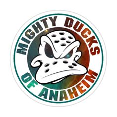 Nhl Logos, Hockey Logos, D2 The Mighty Ducks, Ducks Hockey, Dark Wings, Desenhos Harry Potter, Super Mario Art, Creation Art, Anaheim Ducks
