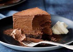 Activa este sábado con una deliciosa torta de mousse de chocolate