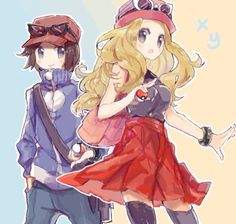 X and y