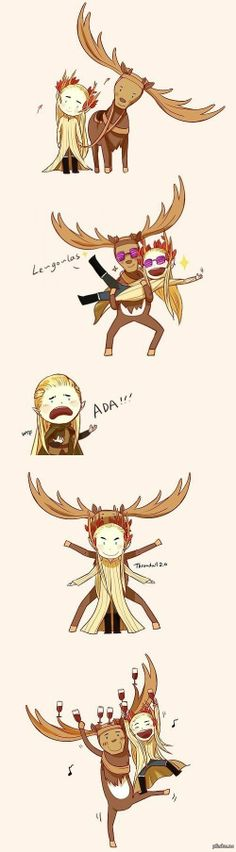 I've got to stop pinning Fabulous Thranduil things, but these are just the best and I love them. XD