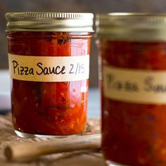 This is the best homemade pizza sauce. It's bright and tangy and so easy to make!
