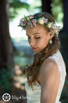 Beautiful boho bride <3