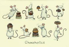 Chocoholics - Two Bad Mice