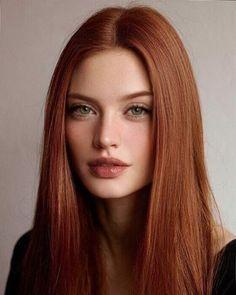 Hair Inspo, Hair Inspiration, Ginger Hair Color, Beautiful Red Hair, Grunge Hair, Woman Face, Red Hair Woman, Pretty Face, New Hair