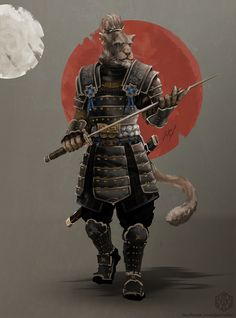ArtStation - Khajiit Swordmaster, Jan Ruf