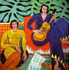 """Music""  Henri Matisse - Oil"