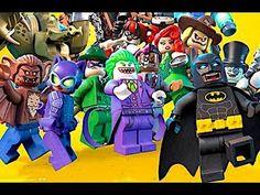 The Lego Batman Movie 2017 Complete Movie Scenes New Batman New Robin Jo...