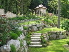 Gartengestaltung mit Naturstein - Gartengestaltung - Naturstein in allen Varianten - Naturstein Konglomerat