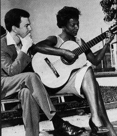 João Gilberto e Alaide Costa